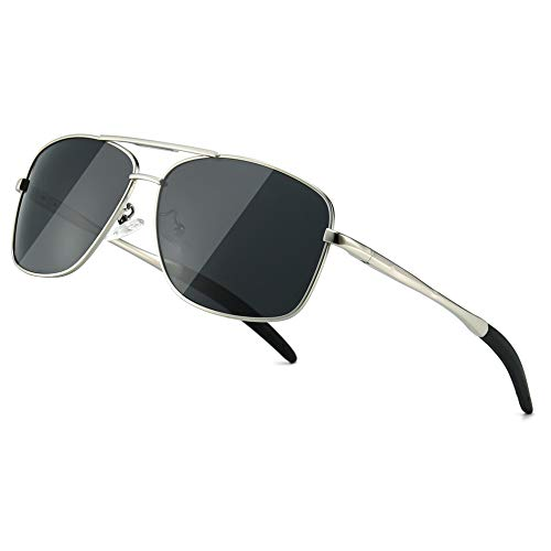 SUNGAIT Occhiali da Sole Retro Uomo e Donna Polarizzati in Metallo con Protezione UV400 Cornice...