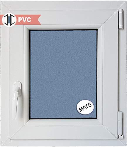 VENTANASTOCK - Finestra singola in PVC, con apertura lato sinistro, sistema anta-ribalta, in vetro...