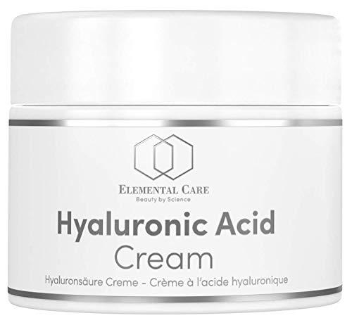 Crema Viso Antirughe Acido Ialuronico Puro 50ml - Crema Idratante Viso Notte + Contorno Occhi -...