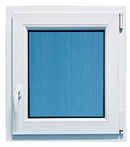 (V13M) Finestra in PVC per bagno, 500 x 700 Osciluatiente Destra Opaco