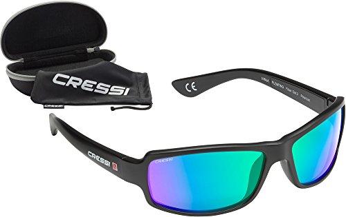 Cressi Ninja Floating, Occhiali Galleggianti Sportivi da Sole Polarizzati con Protezione UV 100%...