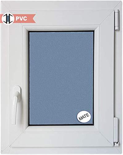 Finestra PVC praticabile Oscilobatiente a destra 500 larghezza x 700 altezza 1 foglio con vetro...