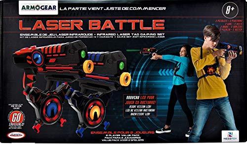 d'Arpèje- Pistola, Colore Rosso/Blu, jeu de Laser