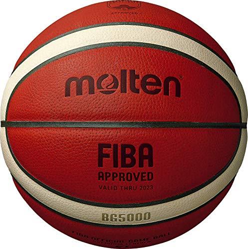 Molten Bg5000 Balls, Palla da Basket Approvata dalla FIBA. Unisex Adulto