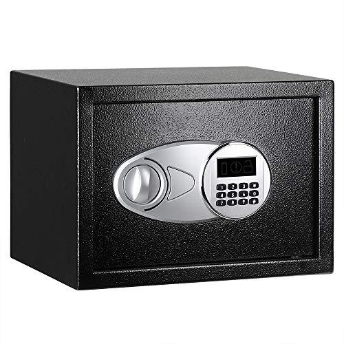 AmazonBasics - Cassaforte da 14 L, , 35 x 25 x 25 cm, colore: nero