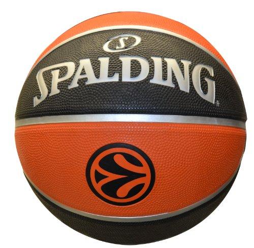 Spalding 73-984Z - Palla da Basket El TF150 Outdoor, Misura 7