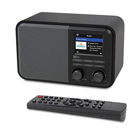 Ocean Digital WiFi Internet Radio WR330D DAB/DAB + / FM con Ricevitore Bluetooth, Telecomando APP,...