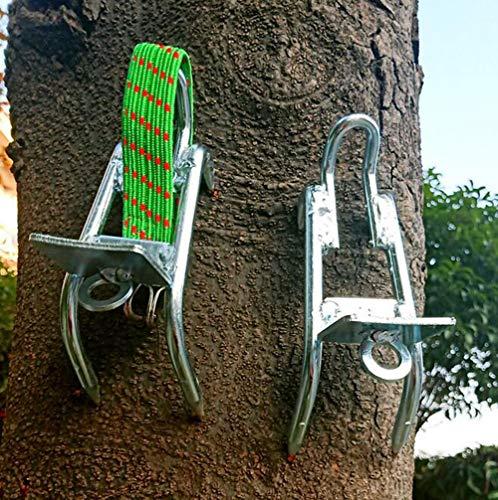 RENHAN Antiscivolo Picchi D'albero Copriscarpe,Acciaio Inossidabile Strumento di Arrampicata su...