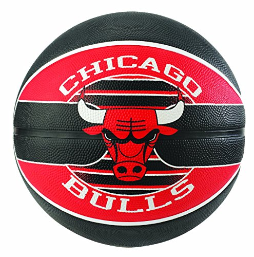 Spalding NBA Team Chicago Bulls Ball, Pallone da Basket. Unisex-Adulto
